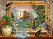 Noahs Ark Framed