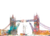 Tower Bridge Color Splash