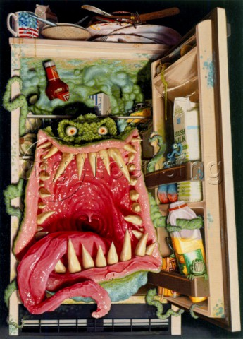 Fridge monster