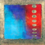 Abstract blue and red (NPI 2131)
