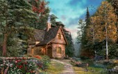 Woodland cottage