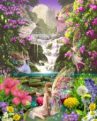 Waterfall fairies