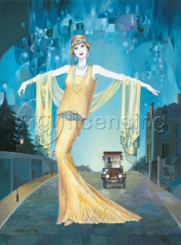 Lady in gold NPI 2977