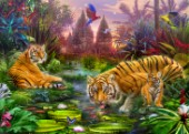 Tigers at the Ancient Stream