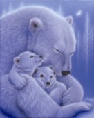 Cuddle-White Bear