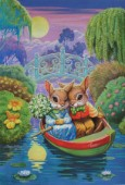 Rabbits in the boat