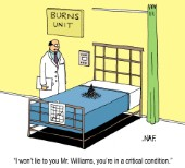 Burns unit