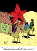 Xmas Following the Wrong Star