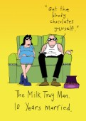 Milk tray man