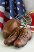 American Football and Flag