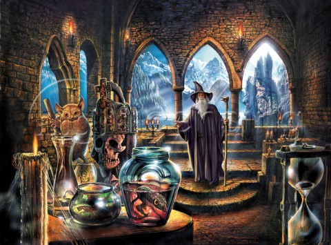 fantasy art wizard castle - photo #28