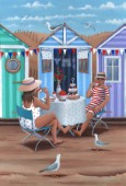 Beach Huts Afternoon Teas Variant 1