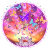 Celestial Butterfly Circle