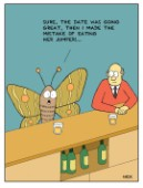 Moth in Bar