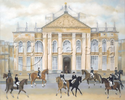 Dressage at Blenheim