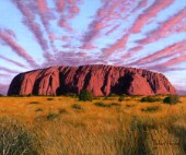 Uluru Sunset Ayers Rock Australia