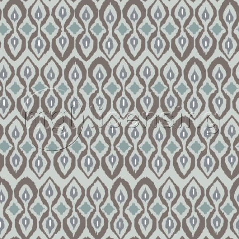 repeating pattern  neutral ikat inspired graphic