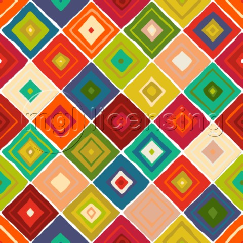 repeating pattern  diamond tiles from my Southwestern inspired ABRAZO collection