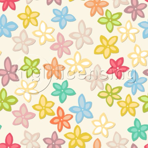 repeating pattern  cute floral