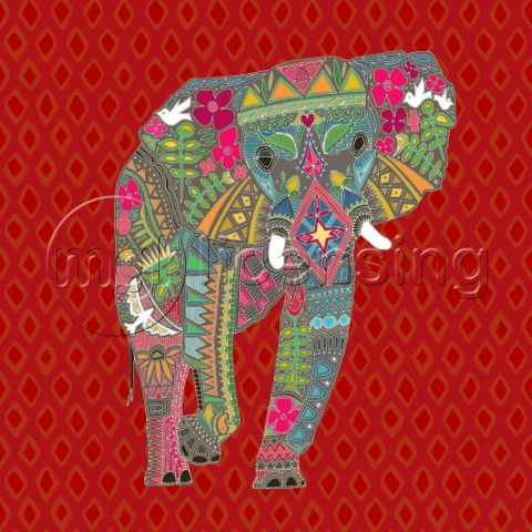painted elephant diamondjpg
