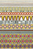 graphic stripe inspired by Venetian amber glass and vintage textiles ~ also available as a repeating pattern