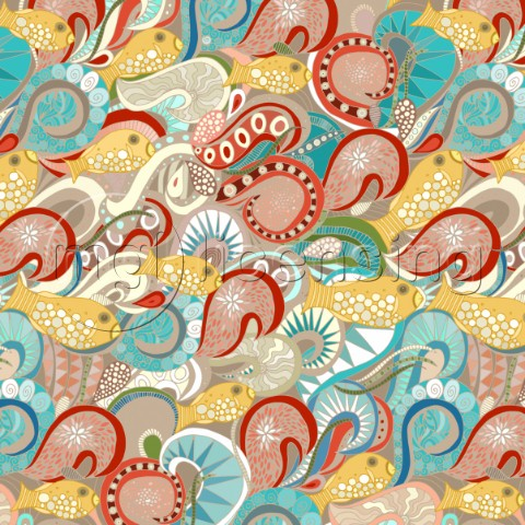 ocean art  also available as a repeating pattern  600012000px