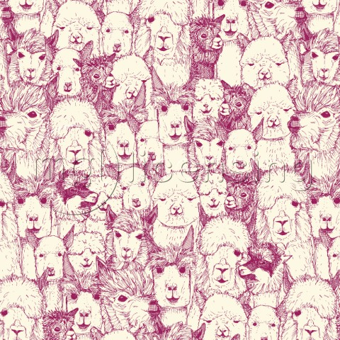 just alpacas cherry pearl art