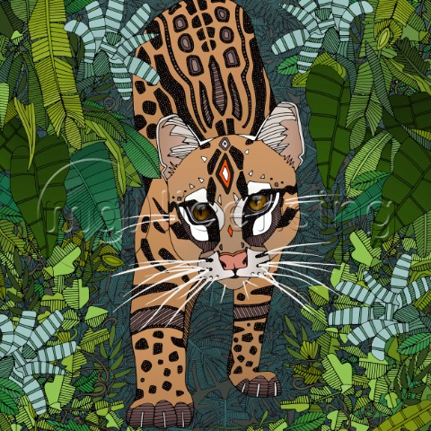 ocelot jungle nightshade square crop variant 1