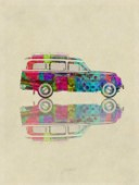 Colourful Vintage Station Wagon