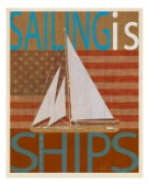SAILING IS Model I on wood.jpg