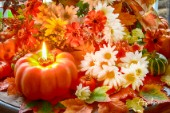 Pumpkin Candle Flower Arrangement.jpg