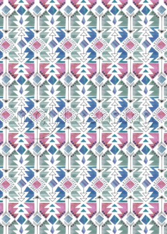AZTEC INSPIRED ARROW AND GEOMETRIC PATTERN ONECOLOUR 2 variant 1jpg