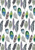 FEATHERS ILLUSTRATIVE FUNKY BOHEMIAN REPEAT ON WHITE.jpg
