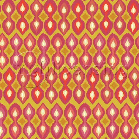 summer bright ikat