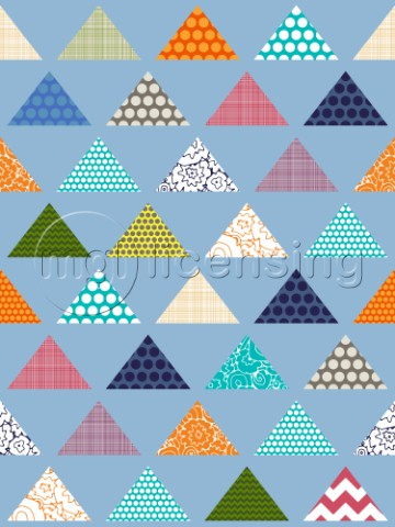 geo filled triangles